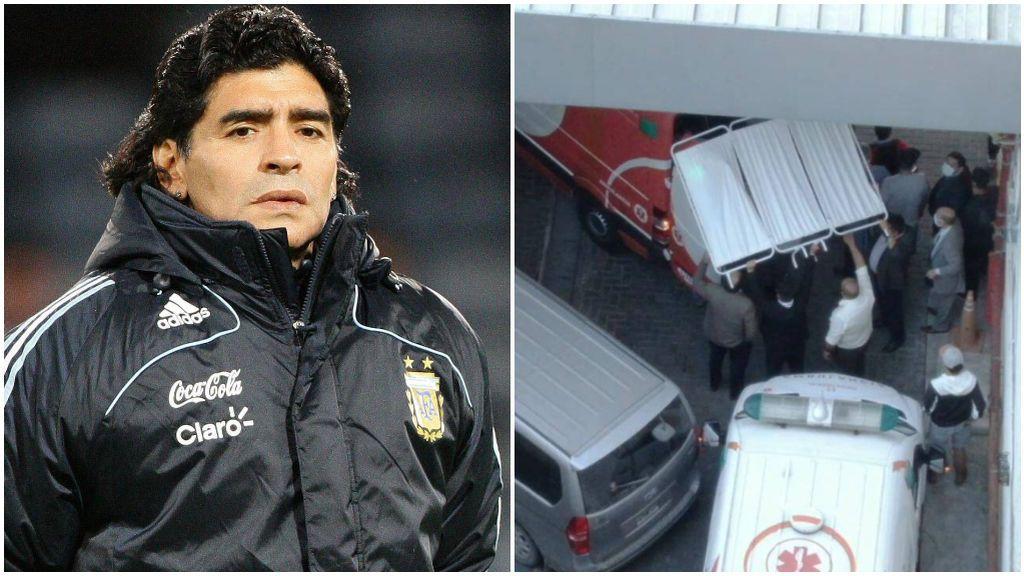 Maradona, en su etapa como seleccionador de Argentina.