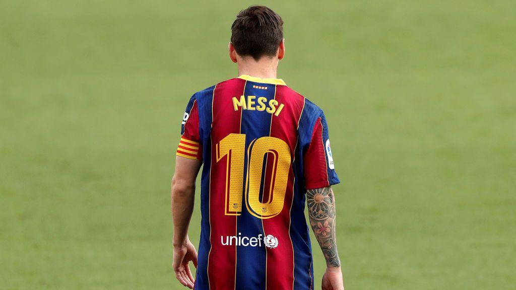 Messi no olvida su idea de irse del Barça: quiere un proyecto ganador que no encuentra en el club