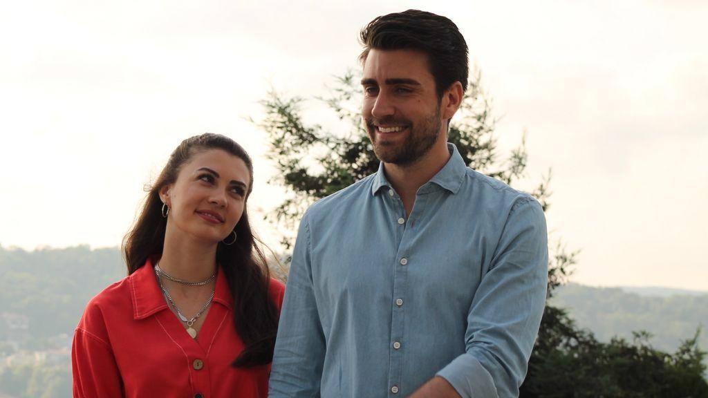 Los protagonistas de 'Trampa de amor'