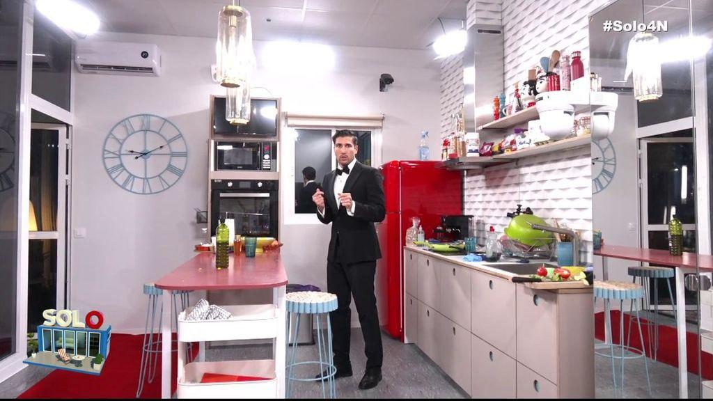 Gianmarco se prepara para su cena