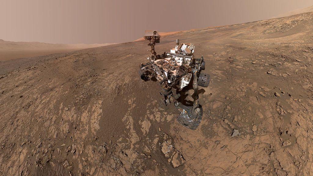 El robot Curiosity encuentra depósitos de antiguas inundaciones gigantes en Marte