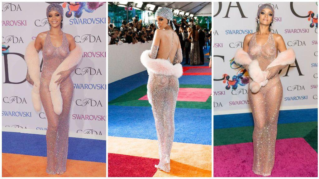 Aunque, sin duda, la reina en todo esto es Rihanna.
