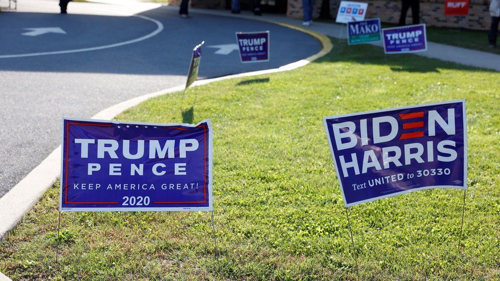 Qué pasaría en caso de empate ente Trump y Biden