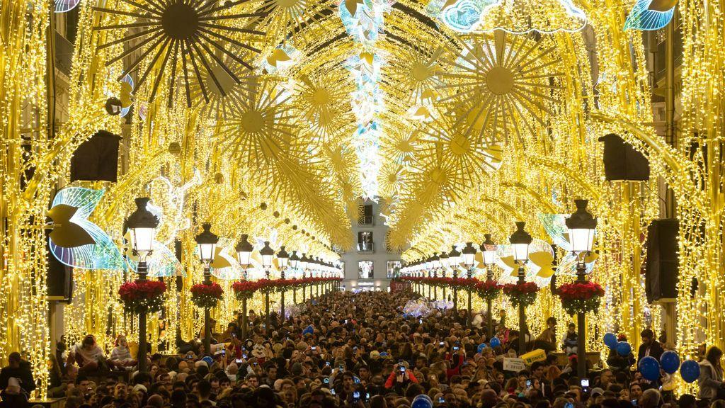 Encendido del alumbrado navideño: sin grandes eventos y espectáculos reducidos