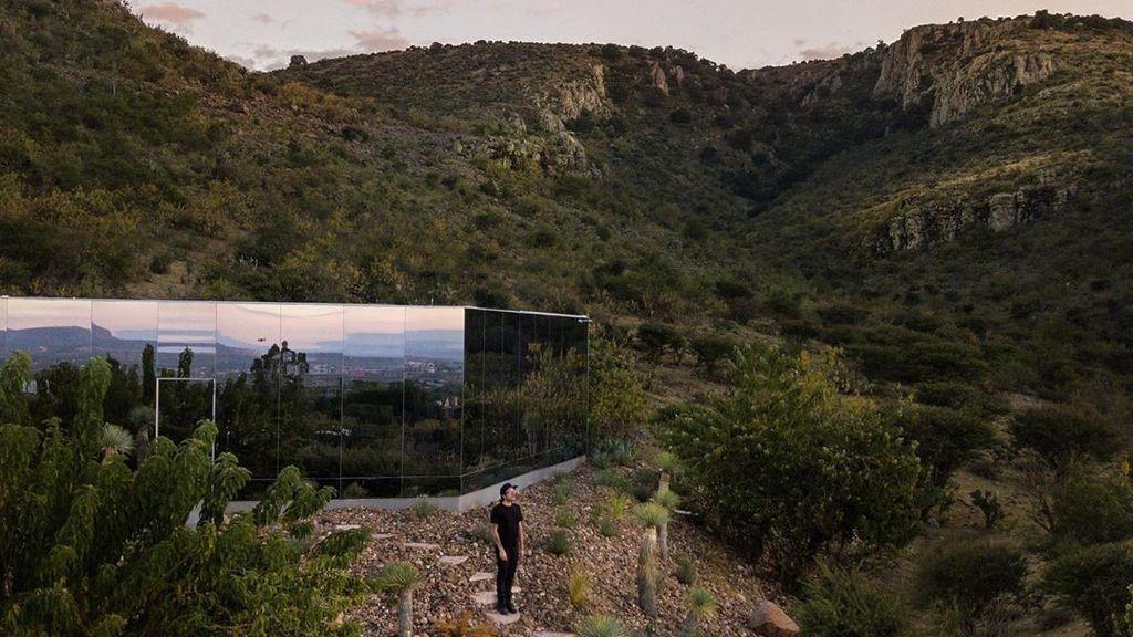 Así es Casa Etérea: sostenible y cubierta de vidrio en plena naturaleza