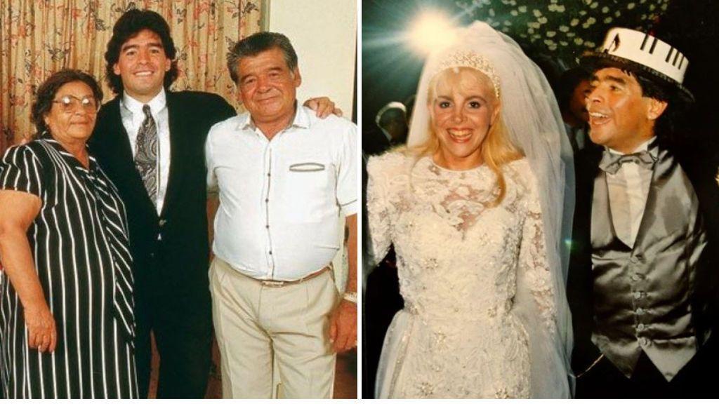 Mujeres, exmujeres, hijos, nietos, sobrinos o representantes: el clan Maradona y todas sus polémicas