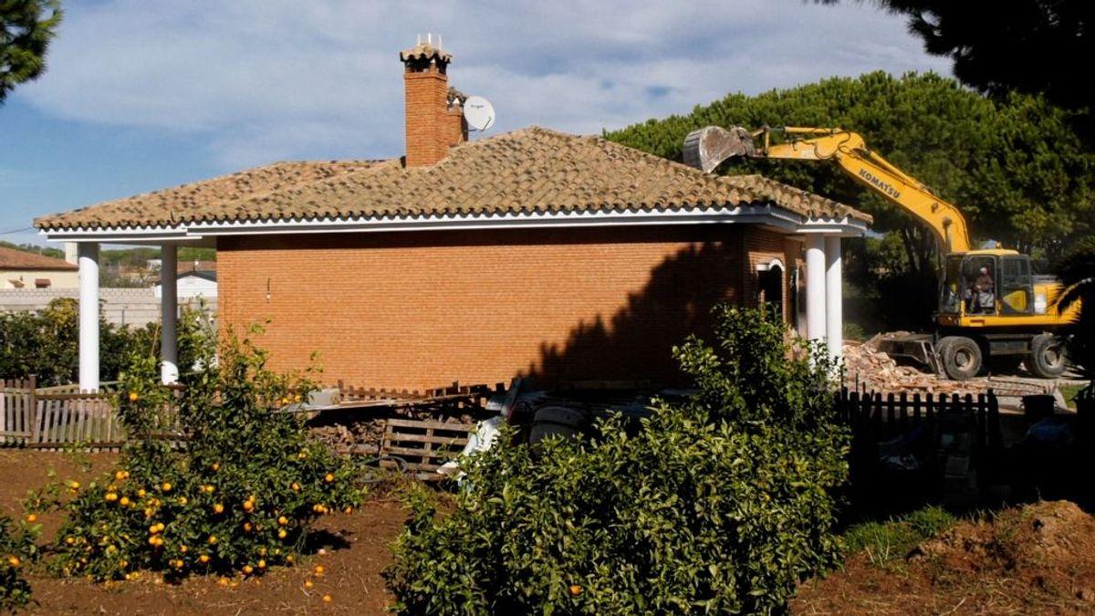 Una entre quince mil: ejecutado un derribo contra una vivienda ilegal en Chiclana de la Frontera