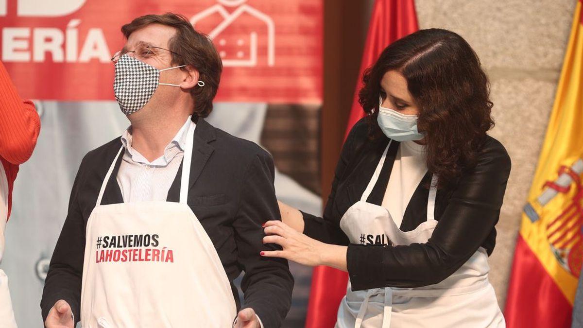 """Almeida pide a los madrileños """"salir a tomar cañitas"""" a pesar de los 366,18 casos por cada 100.000 habitantes de la región"""