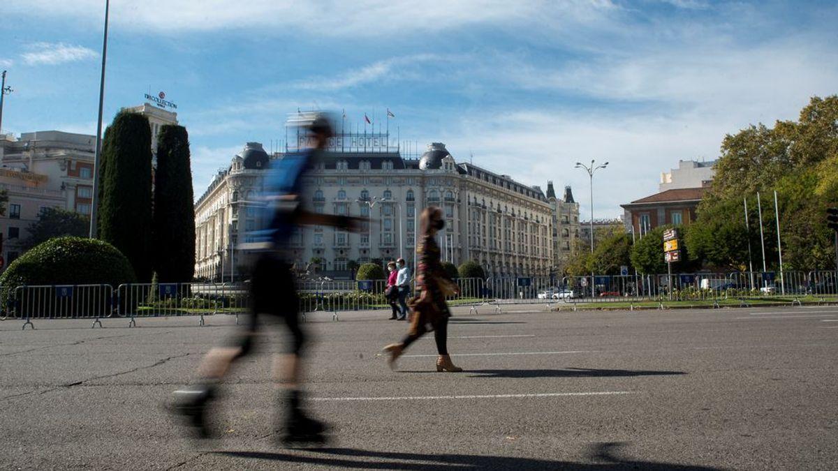 Última hora del coronavirus: Madrid inicia su segundo confinamiento por días por el puente de la Almudena