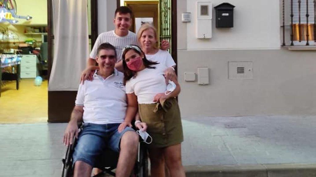 Rafael, 72 días en UCI