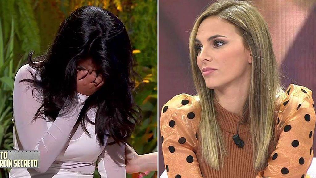 Irene Rosales reacciona a las lágrimas de Isa P tras conocer los titulares de Kiko contra su madre
