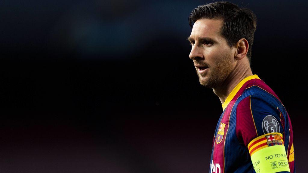 Leo Messi está alejado de la posición de la Gestora.