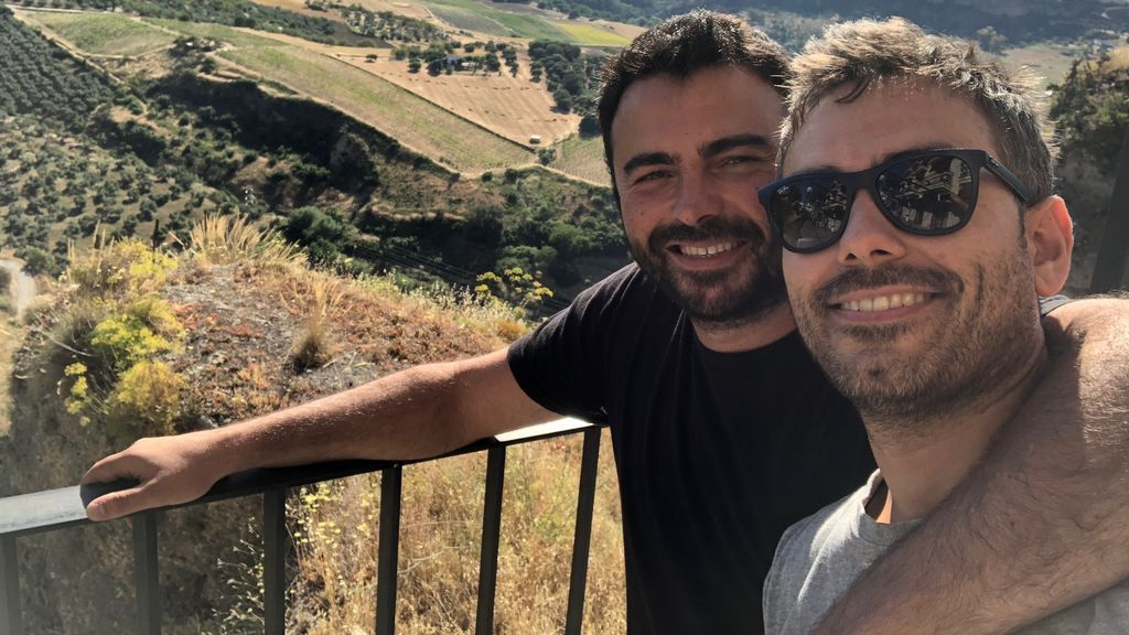 Simbad Romero y Manuel Carrizosa