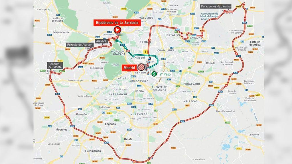 La Vuelta Ciclista a España modifica la última etapa para evitar poblaciones en su llegada a Madrid