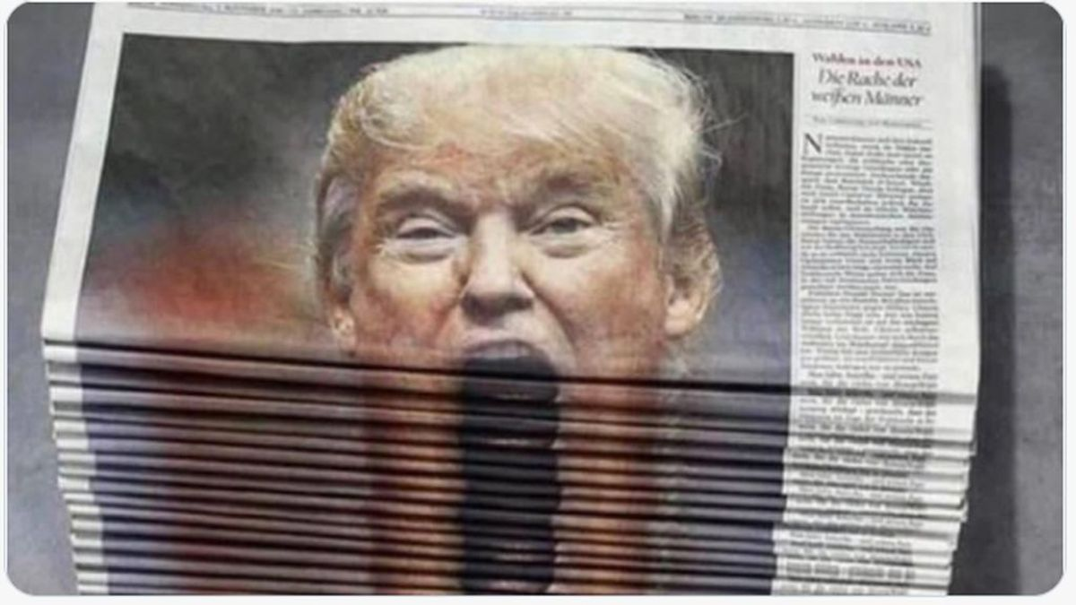 Los memes tras la 'pataleta' de Trump acusando a los demócratas de robar las elecciones