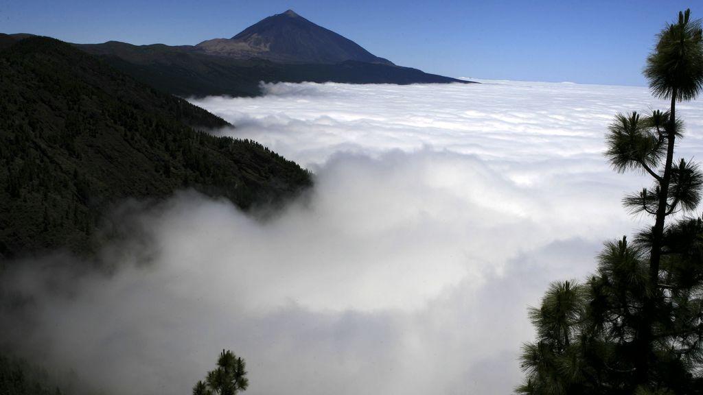 Canarias y su misterioso 'mar de nubes'