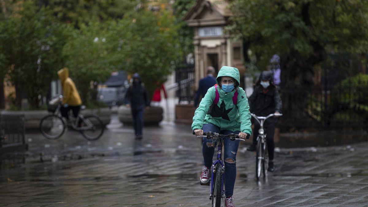 La lluvia será protagonista en España durante todo el puente de la Almudena