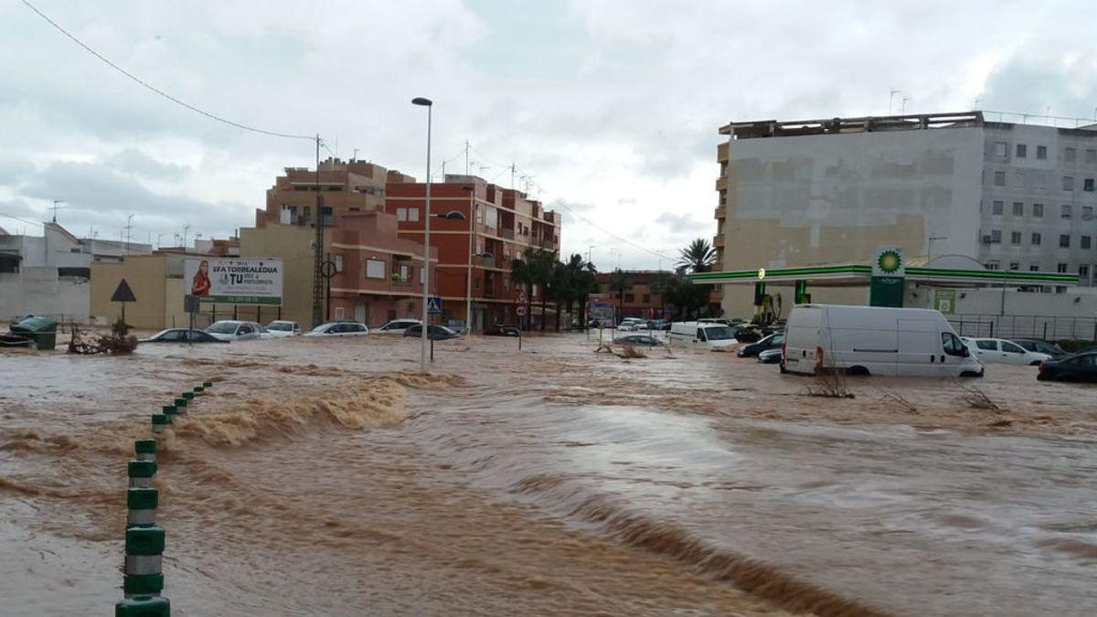 El temporal deja registros históricos de lluvias y anega localidades del sur de Valencia
