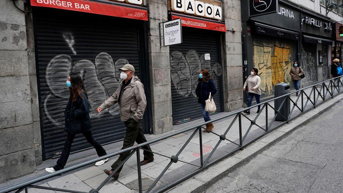 Caen los contagios en Madrid: 2.347 nuevos casos, 265 menos que en el balance previo