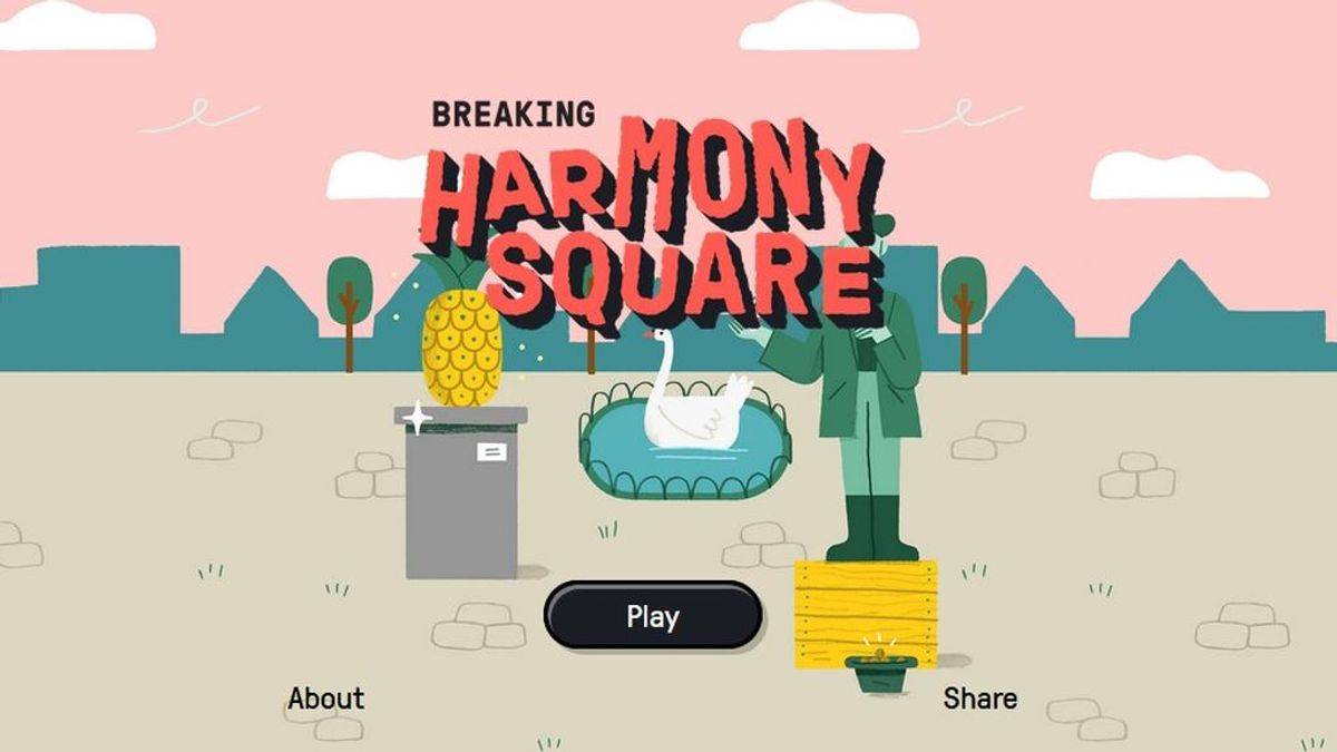 Harmony Square, el videojuego que hace que los usuarios sean menos vulnerables a las 'fake news'