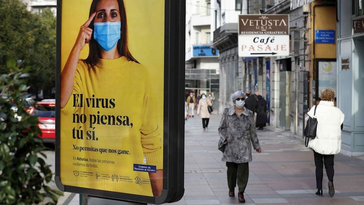 Asturias anota un máximo de casos diarios, con 574, y eleva la tasa de positividad al 10,16 %
