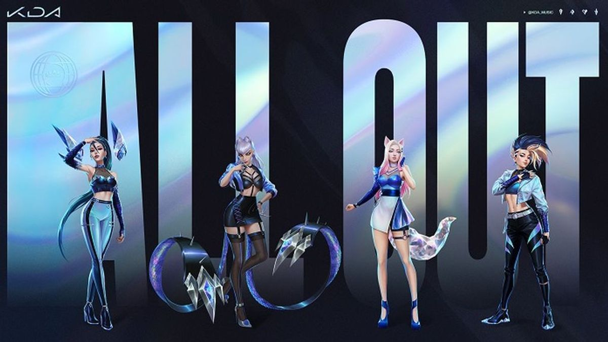 K/DA, el grupo de k-pop formado por campeonas de League of Legends, presenta su primer EP