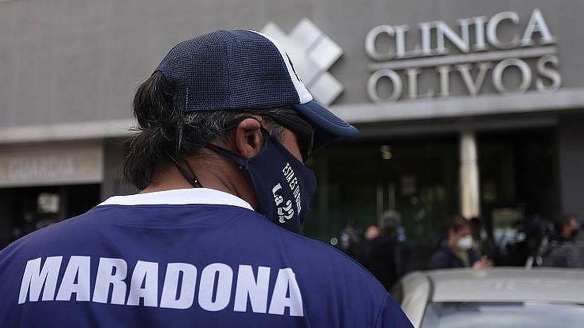 """El médico de Maradona: """"Su cuadro de abstinencia se debe a los consumos que tuvo durante toda su vida"""""""