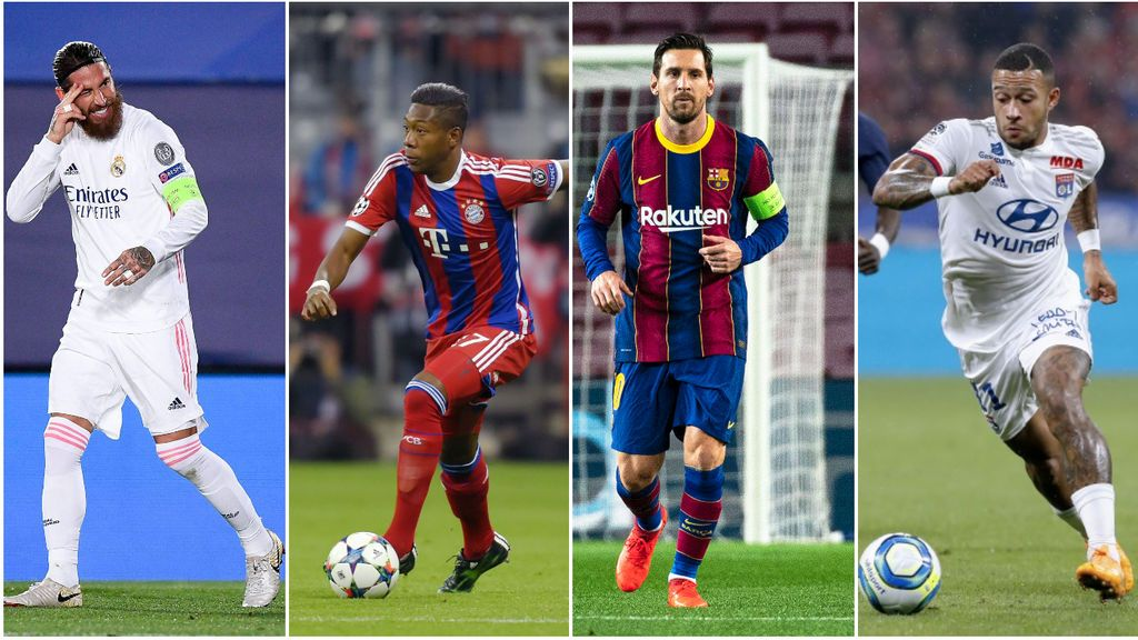 No solo Messi y Ramos: los 'galácticos' que pueden irse gratis negociando ya en enero
