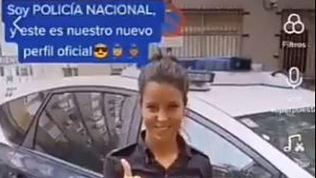 La Policía Nacional se estrena TikTok