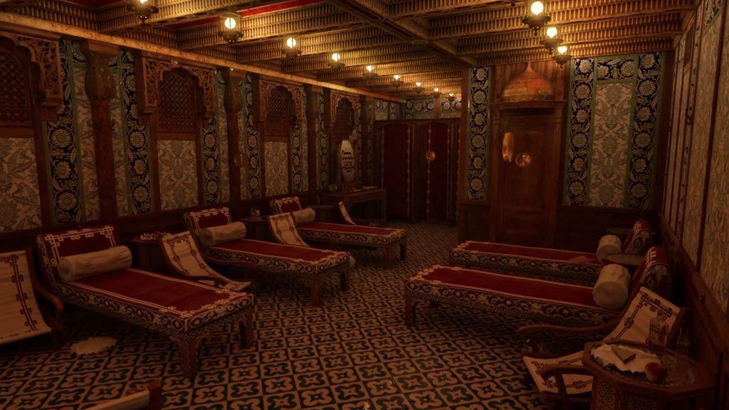 Las imágenes del Titanic por dentro: así era el buque de los sueños