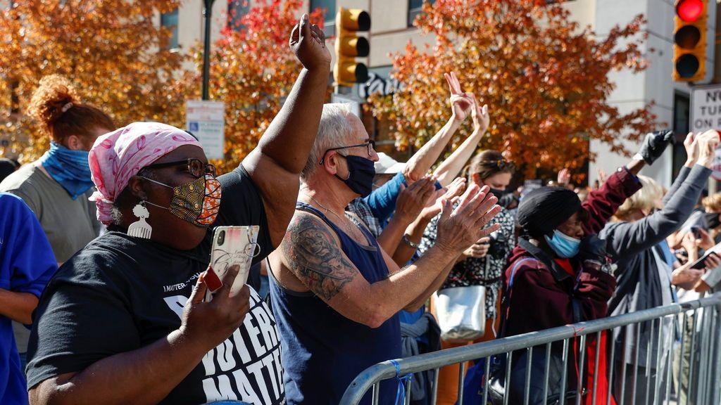 Biden, presidente electo de EEUU: así se celebra en las calles