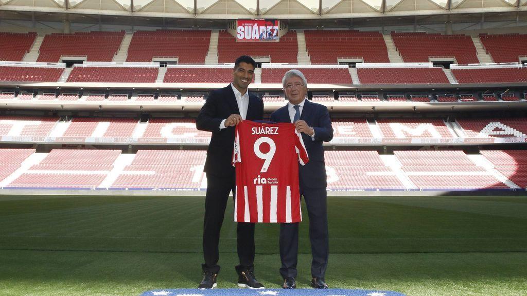 """Luis Suárez y su nueva etapa en el Atlético de Madrid: """"Voy a defender la camiseta del Atlético a muerte"""""""