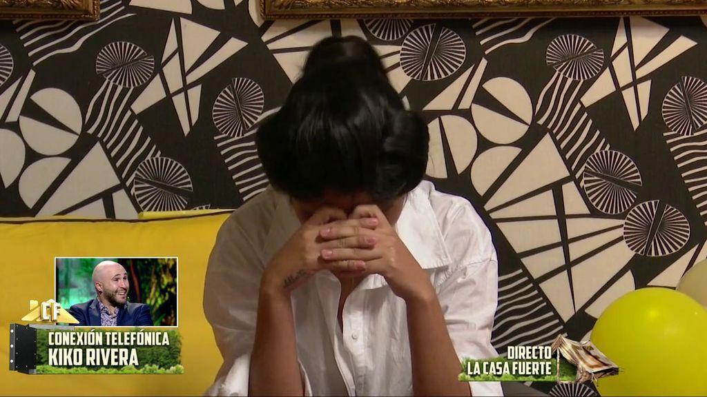 Kiko Rivera le explica a Isa qué ha pasado