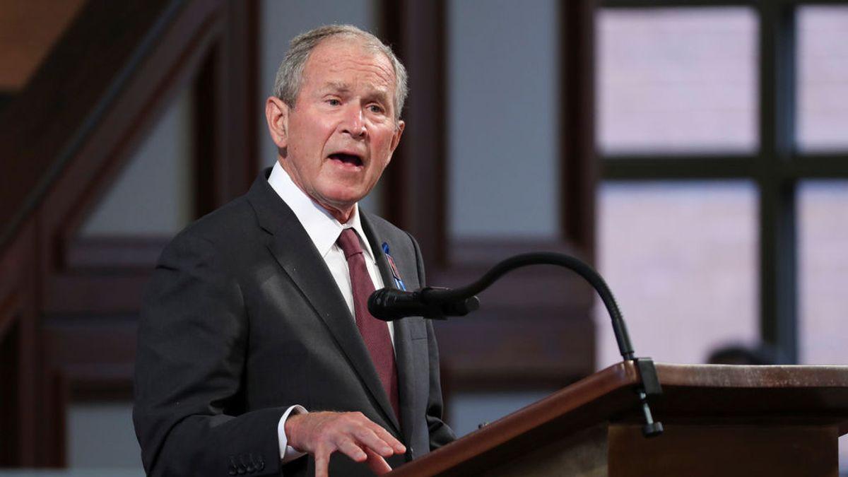"""Bush felicita a Biden y pide que una al país: """"Sé que es un buen hombre que ha aprovechado la oportunidad"""""""