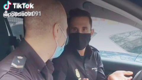 La Policía Nacional obtiene la verificación en TikTok