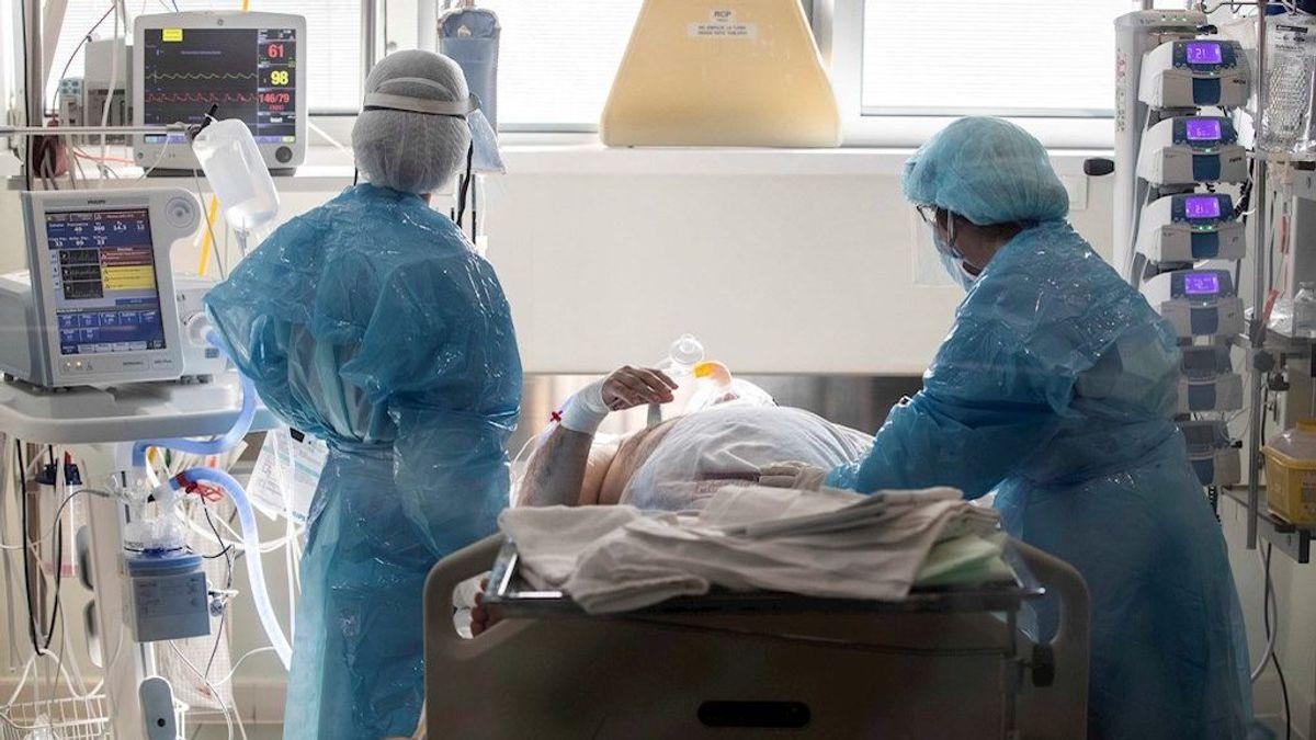 Bajan los contagios pero aumenta la presión hospitalaria por la covid-19 en España
