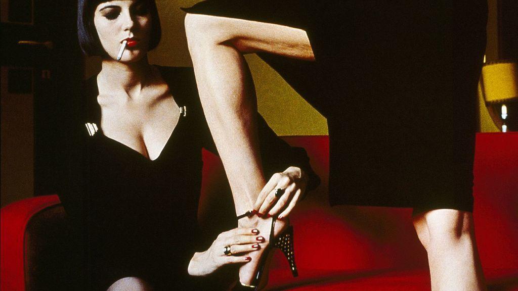 Fotografía de Helmut Newton para la revista italiana  Amica, de 1982.