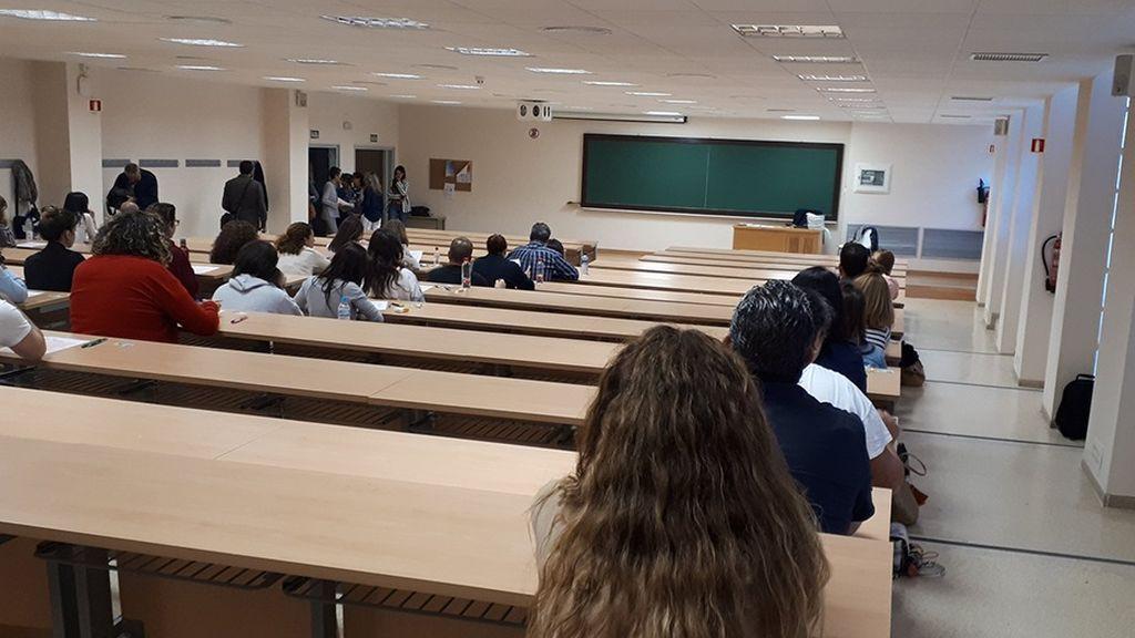 Imagen de archivo de unas oposiciones a la Junta de Andalucía