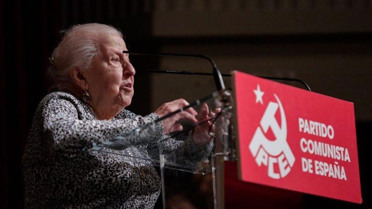 Fallece Paquita Martín, fundadora de Izquierda Unida y militante histórica del PCE