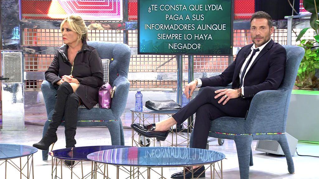 Todas las preguntas (y mentiras) del 'polideluxe' de Lydia Lozano y Antonio David Flores Sábado Deluxe 2020 Programa 608