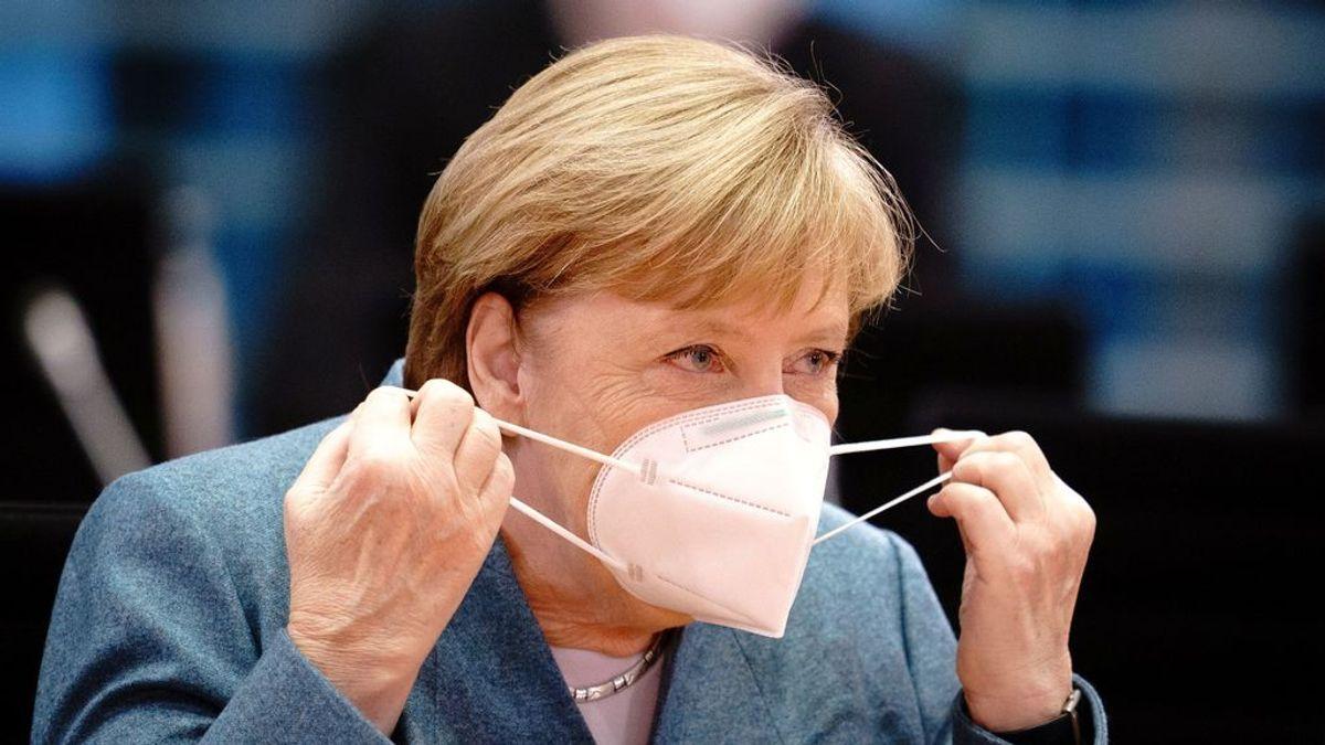 Merkel avisa de que Alemania no volverá a la normalidad hasta que más de un 60 % de la población sea inmune al covid-19