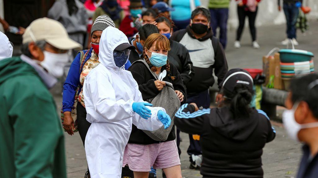 Ecuador suma 1.421 casos de la covid-19 en un día y acumula 174.907 contagios