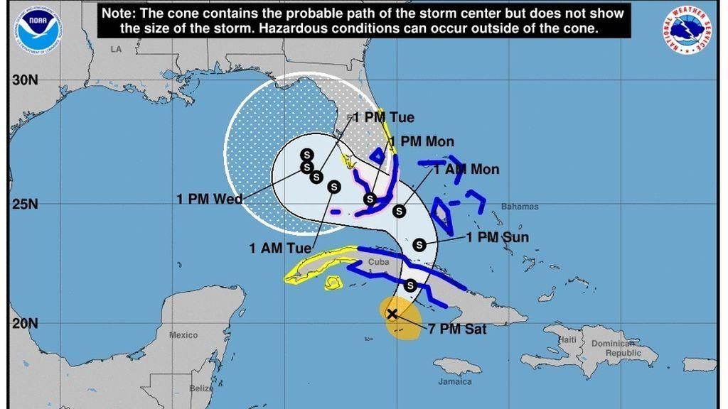 El paso del huracán 'Eta'