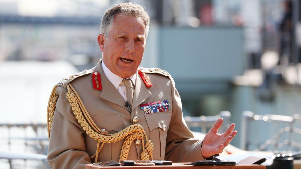 El peligro de una nueva guerra mundial es muy real, advierte el jefe de las Fuerzas Armadas británicas