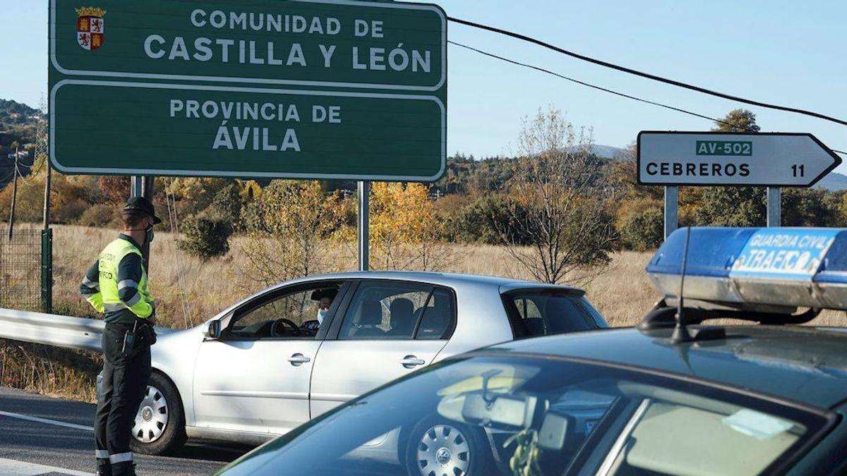 Castilla y León prorroga el confinamiento perimetral de la comunidad otros 14 días
