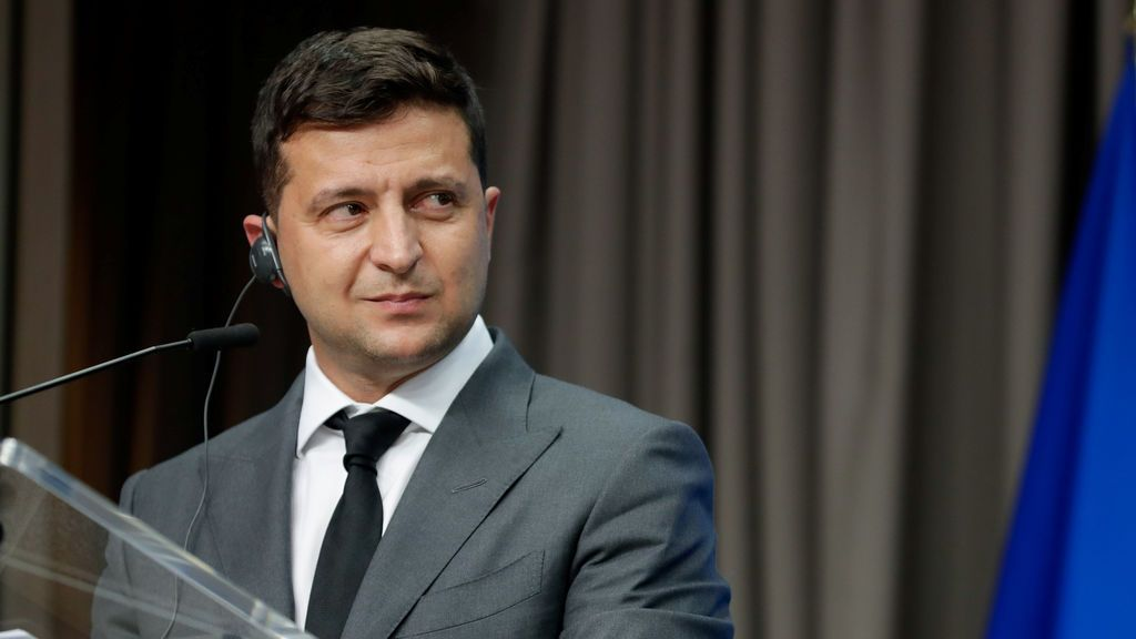 El presidente de Ucrania, Volodímir Zelenski, da positivo en coronavirus