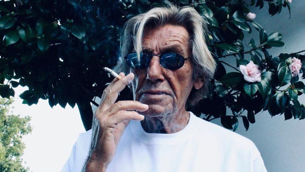 """""""Fui joven y guapo y sigo siéndolo"""": Andrés, el modelo de 88 años que arrasa en Instagram"""