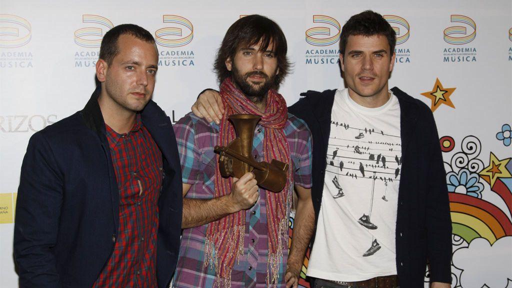 Dani Martín y El Canto del Loco en la XIV edición de los Premios de la Música 2010