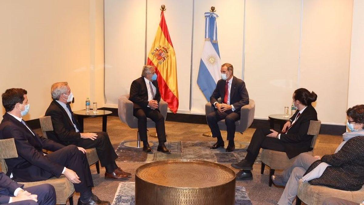 """PP y Ciudadanos piden explicaciones por la """"agenda paralela"""" de Igleias en su viaje a aBolivia con Felipe VI"""