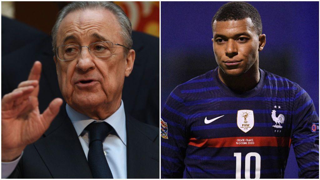 Florentino Pérez se ha fijado un precio tope para fichar a Mbappé.